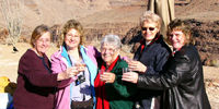 Champagne in the Grand Canyon